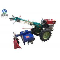 China 8-25 Hp Diesel Walk Tractor Small Farm Equipment With Planter Plough Ridger Trailer wholesale
