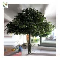China UVG GRE032 Green ornamental artificial indoor banyan trees for party decoration on sale