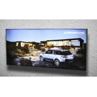 China Rectangle Single Sided Wall Mounted Light Box For Trade Show , Retail Display wholesale