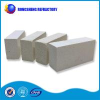 China Square Shape High Purity Refractory Fire Bricks White Color For Glass Furnace wholesale