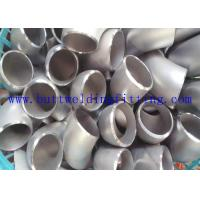 China F44 31254 Stainless Steel Pipe Elbow 45 Degree / 90 Degree Steel Elbows wholesale