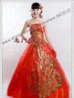 China strapless wedding dress bridal  gown plus size wholesale