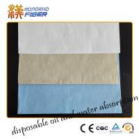 China Bamboo Wood Pulp Non Woven Fabrics Super Absrbent 40gsm - 90gsm Weight wholesale