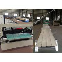 China Metal Roofing Sheet Making Machine / Steel Metal Roof Roll Forming Machine wholesale