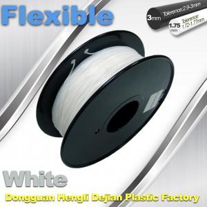 China 1.75 / 3.00mm Elastic Filament For 3D Printers wholesale