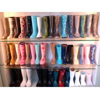 China various of womens PVC rain boots,PVC boots,printing rain boots for ladies,womens wellington boots on sale