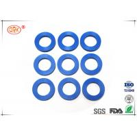 China 80 Shore A Flat Rubber Washer With FDA Approved Black Blue Soft Silicone wholesale