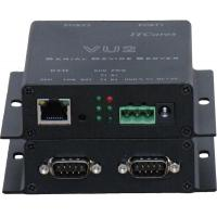 China 2 Port Serial RS232/422/485 to Ethernet Server/Com Driver,Industrial Edition VU2 wholesale