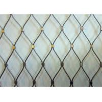 China AISI316 Black Oxide Woven Type Metal Wire Mesh Animal Enclosure Fence wholesale