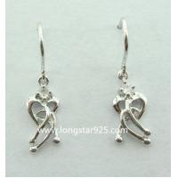 China 925 silver small earrings, light weight jewelry wholesale
