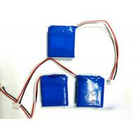 China 500 Mah 3.7V Lithium Polymer Battery Pack , Portable Battery Pack wholesale