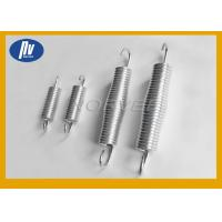 China Yellow Zinc Plated Helical Torsion Spring Strong Stability With Left / Right Coils wholesale