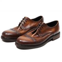 China Bullock Men Formal Dress Shoes Fashion Brown Mens Leather Oxford Shoes on sale