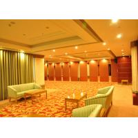 China Training Room Folding Divider Walls , Folding Wall Panels For Home Studio Recording wholesale