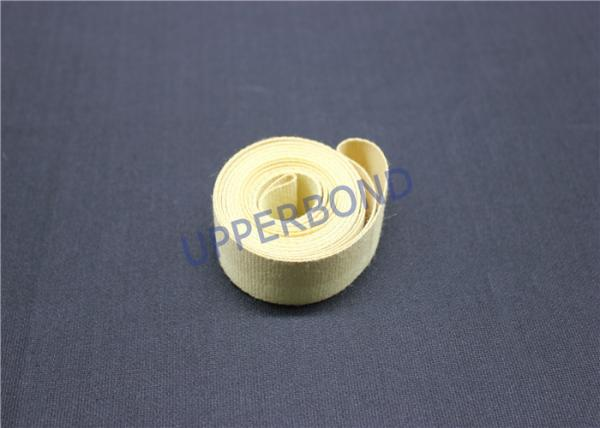 Quality Aramid Garniture Tape Tobacco Machinery Spare Parts With Surface Coat for sale