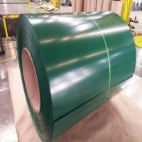 China Green Color Coated Steel Coil 0.8mm Cold Rolled 304 SS Coil Construction on sale