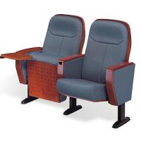 Buy cheap auditorium fabric chair with wood arm Auditoria chair from wholesalers