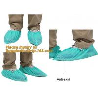 China Disposable Blue waterproof rain boot/shoe covers,rain cover for shoes,Eco-friendly Professional Shoe cover made in China wholesale