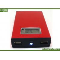 China 18650 Battery Dual USB Power Bank  , High Capacity Smartphone Power Bank wholesale