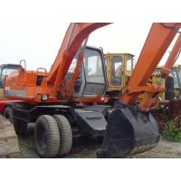China EX100WD USED HITACHI WHEEL EXCAVATOR FOR SALE ORIGINAL JAPAN USED HITACHI EX100WD SALE on sale