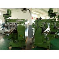 Buy cheap 3HP/R8(NT30) Taiwan parts step speed Vertical Turret Milling Machine , 1270 from wholesalers
