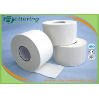 China 3.8cm White colour Latex free zinc oxide athletic Rigid Rayon Tape Porous Sports strapping Taping wholesale
