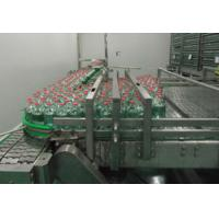 China Stable Performance Packing Conveyor Machine , Chain Plate Conveyor For Bottles wholesale