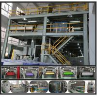 China High Speed PP Non Woven Fabric Making Machine compact construction 0 - 250m/min wholesale