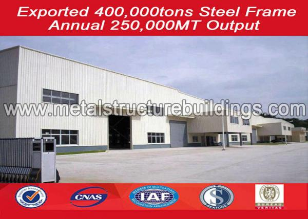 Quality Reusable metal warehouse building kits , steel structure warehouse Modular for sale