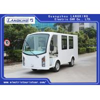China Low Speed 48V 5KW Electric ambulance car /Mini Electric Sightseeing Car / 4+1 bed Seats Electric Shuttle Bus wholesale