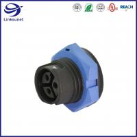 China Middle series male and female Led Waterproof connector for industrial wire harness wholesale