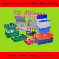 China Injection Milk Crate Mould Company Beer Bottle Crate Mould Factory wholesale