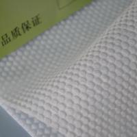 China Embossed Hydrophilic Nonwoven Fabric for Sanitary Napkins' and Diaper Top Layer on sale