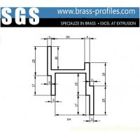 China Australia Customized Brass Door Window Frame Extrusion Priofiles wholesale