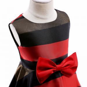 China New Sukienki Dla Dziewczynek Vestidos De Novia Elsa Costume Lol Dress Horizontal Stripes Flower Girl Dress Sukienka Dzie wholesale