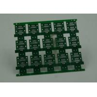 RoHS HASL 4 Layer Rigid PCB Board Fabrication Finish Green Solder Mask