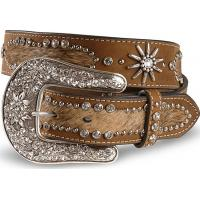 new western spur conchos cowhide belts for jeans