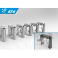 Full Automatic Vertical Tripod Turnstile Bi - Direction Long Service Life For Scenic Spots