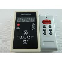 China DMX 512 Programming RGB LED Controller For Strip Light With Single - port Output wholesale