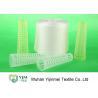 China TFO Weaving / Knitting Spun Polyester Yarn , Spun Polyester Sewing Thread 20/3 wholesale