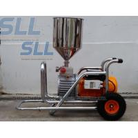 China Room Painting Mortar Spraying Machine 3000w Diaphragm Pump Wall Putty Spray Gun wholesale