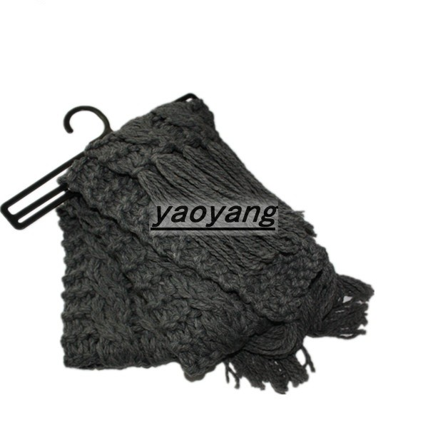 Quality 2015 warm style and fashion soft knitted scarves FS025 for sale