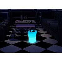 China Rechargeable 5 Liter Light Up Plastic LED Ice Bucket Guaranteed Quality wholesale