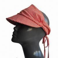 China Bandana, Made of Cotton with Striped Pattern, Various Colors and Designs are Available wholesale