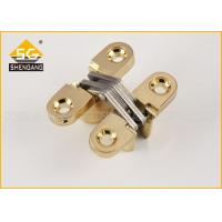 Buy cheap Hidden Zinc Alloy Small Concealed Hinges For Lightweight Door Leaf from wholesalers