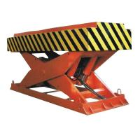China 5000Kg Loading Hydraulic Cargo Lift Table With Gas Shield Welding 1.85m Lifting Height on sale