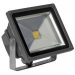 IP65 LED Flood Light 30 Watt , COB LED Floodllight EPISTAR Black Stainless