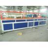 China WPC Ceiling Plastic Profile Extrusion Line , WPC PVC Floor Profile Production Line wholesale