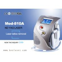 China Q-Switched ND YAG Laser Tattoo Removal Machine , Age Spot Removal Machine wholesale