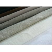 China 100% LINEN FABRIC PLAIN DYED  WITH SOLID COLOURS    CWT #2008 wholesale